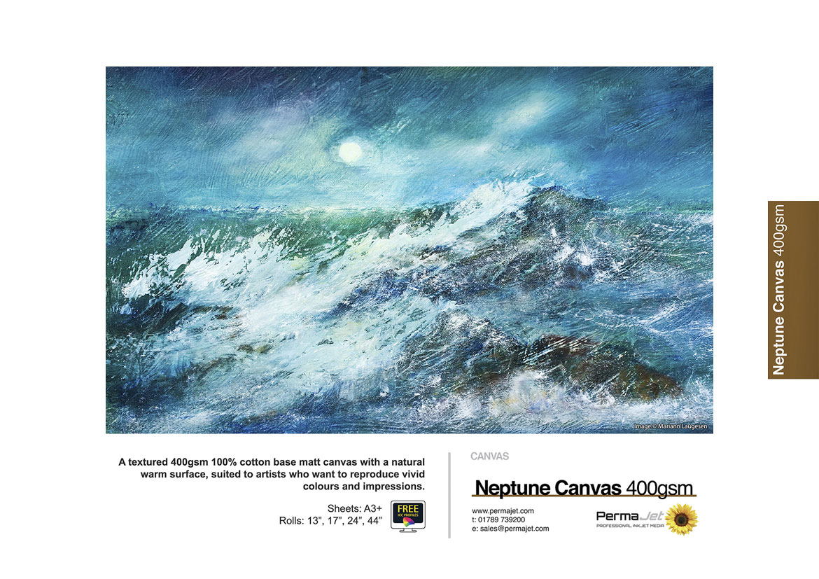 Neptune Artistic Matt 400 canvas